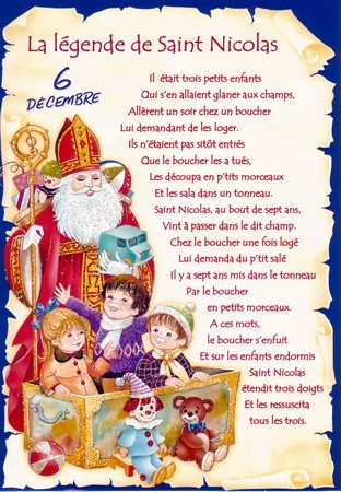 La lgende de St Nicolas 