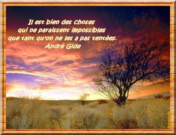 Citation D André Gide