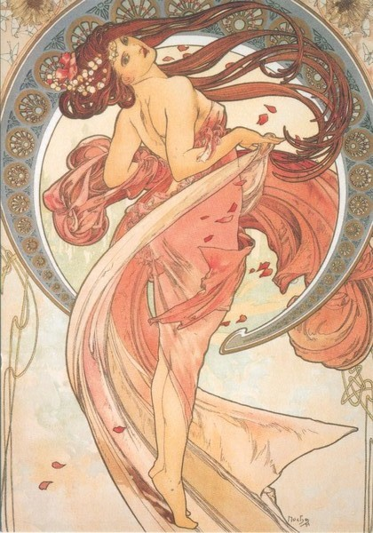 Alfons Mucha - Peintre Art Nouveau