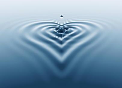 coeur d'eau