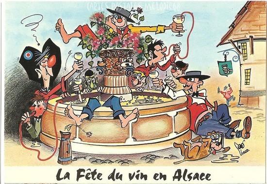 Carte Postale Alsace Humour.Mes Voyages Cartes Postales Et Humour