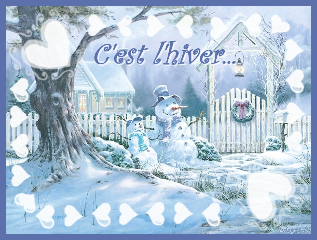 Preview for Fond ecran hiver animaux